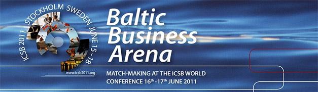 Tarptautinis verslo kontaktų renginys Baltic Business Arena 2011 Stokholmas (Švedija)