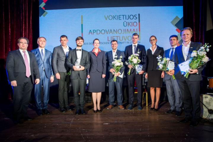 """UAB """"BTT Group"""" pelnė specialų Vokietijos ūkio apdovanojimų prizą"""