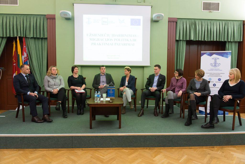 Užsieniečių įdarbinimas: forumo atgarsiai