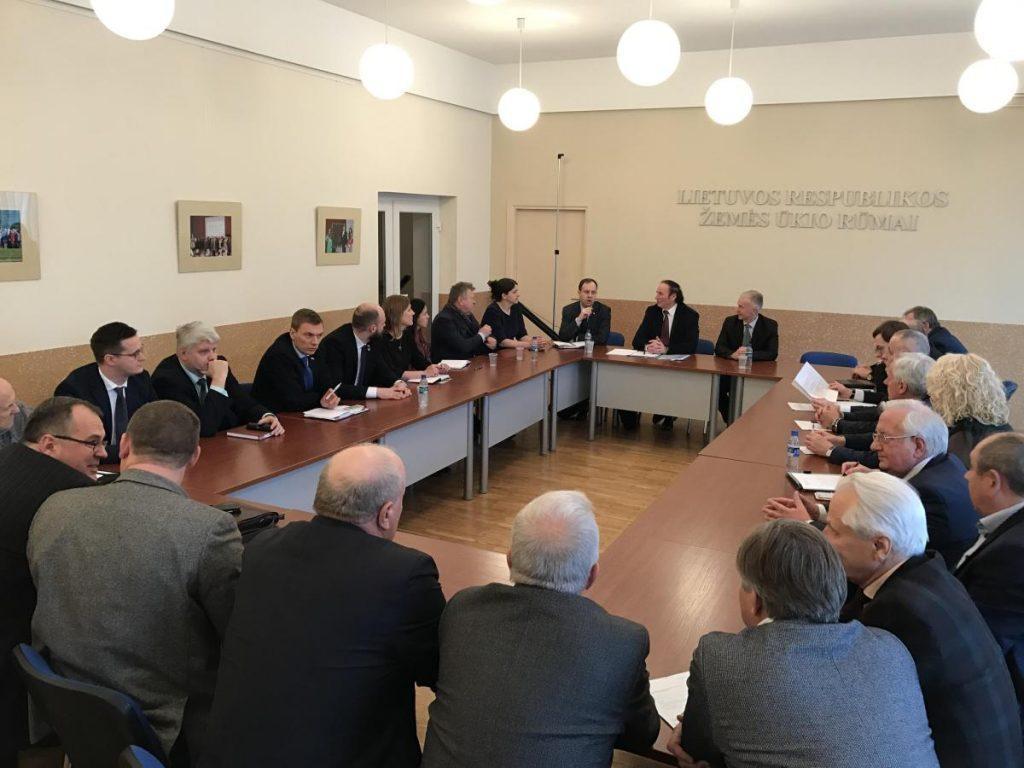 Verslininkai susitiko su Seimo nariais