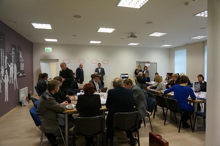 Verslo ir mokslo bendruomenės narių diskusija