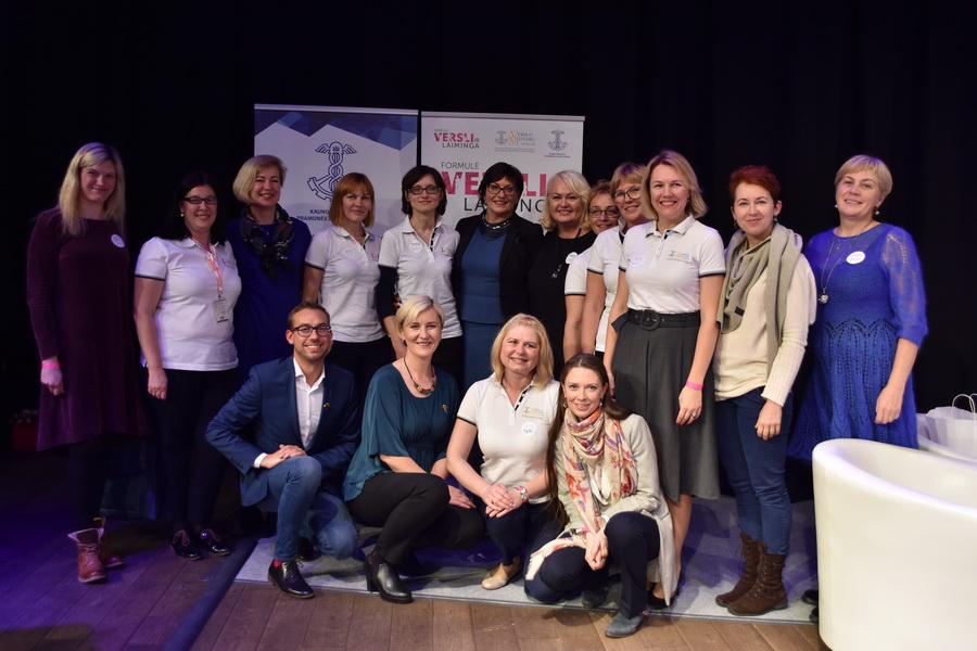 Verslo moterų sėkmės ir laimės formulė - didžiausiame forume Kaune