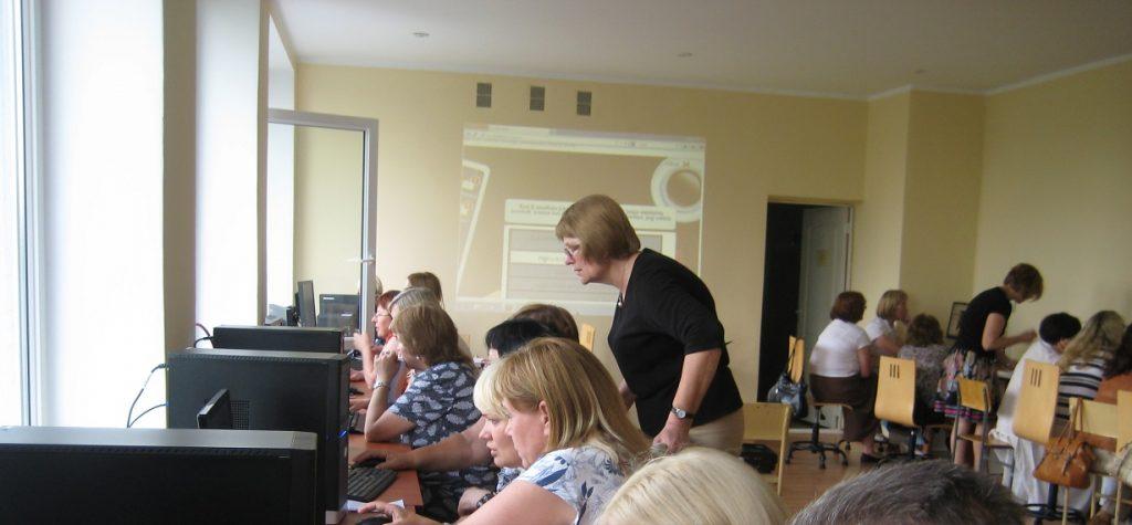 Verslo strategijos mokymai mokytojams