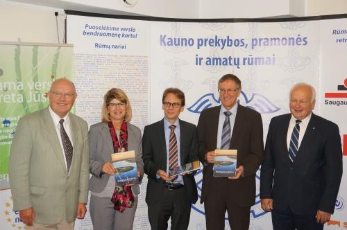 Vokietijos delegacijos vizitas Kauno prekybos