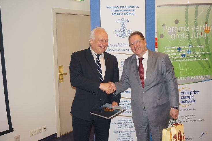 Vokietijos verslo misija Kaune