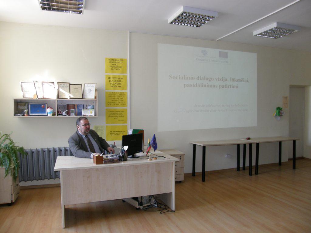 Vyko socialinio dialogo konferencijos