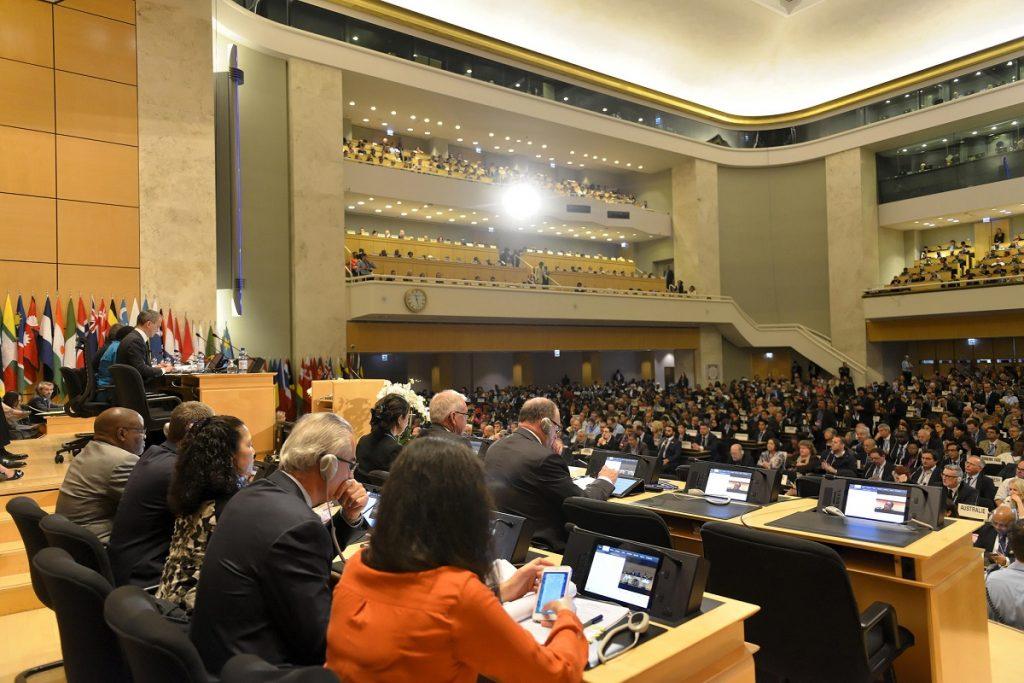 Ženevoje prasidėjo Tarptautinės darbo organizacijos 105-oji konferencija