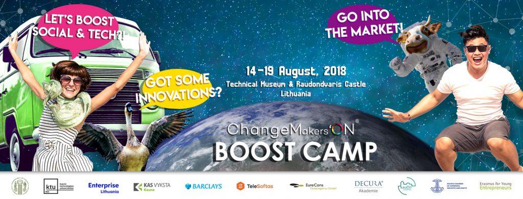 Kviečiame tapti ChangeMakers'ON CAMP 2018 mentoriumi-ekspertu