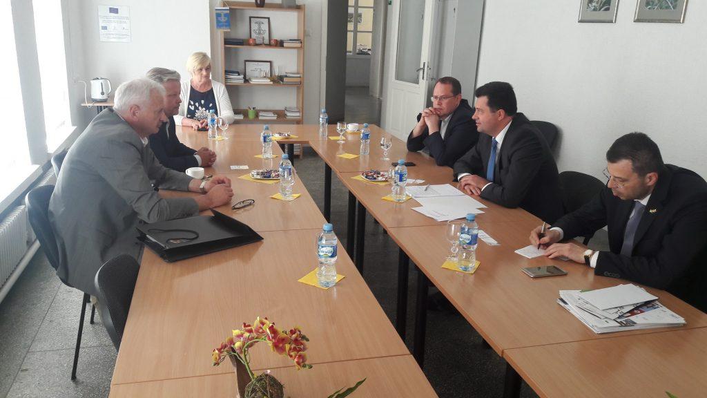 Moldovos ambasadorius lankėsi Marijampolėje