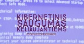 Nacionalinio kibernetinio saugumo centro patarimai keliaujantiems