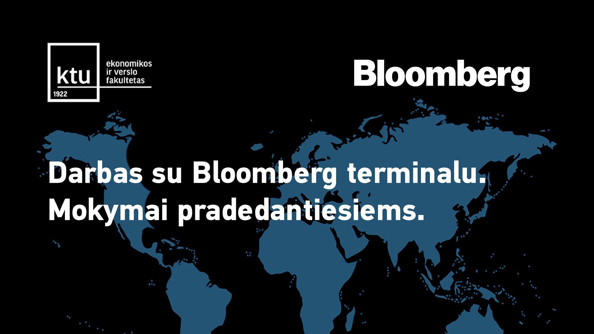 bloomberg elektroninė prekybos sistema)